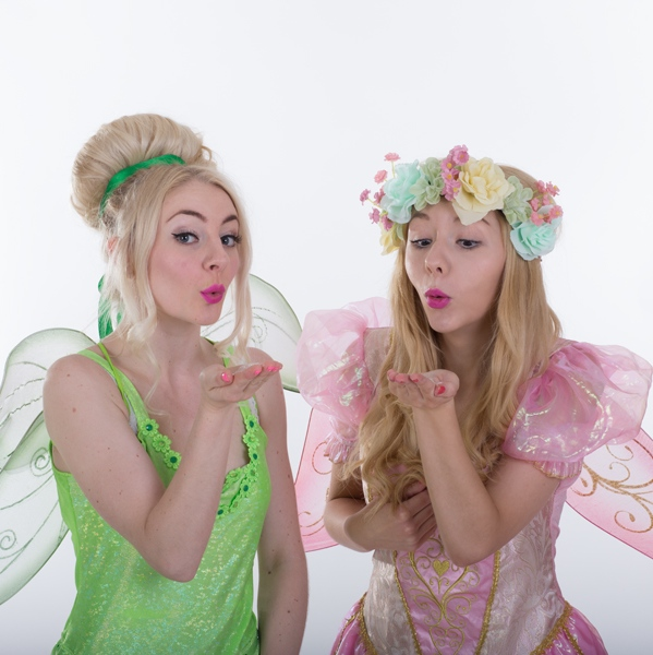 fairy dust wish with two mischievous fairies