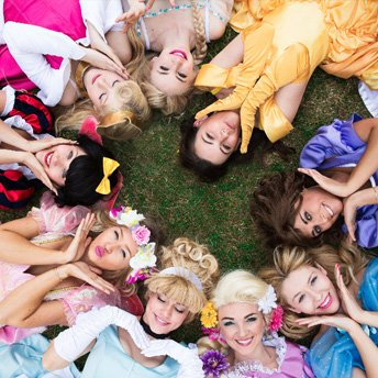 Our princess party entertainers cover all across the UK