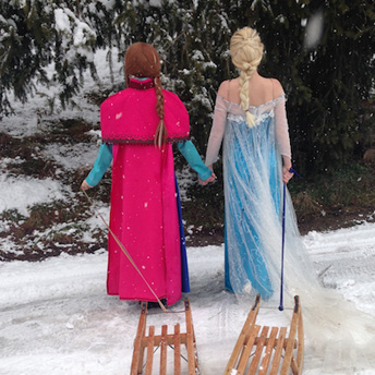 Frozen Party entertainers