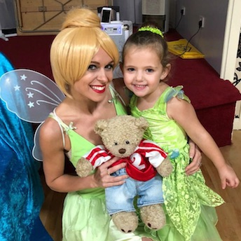 Tinkerbell at a Fairy Party