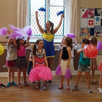 Dance and cheerleading Parties